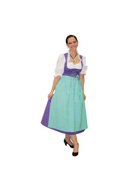 dirndl lila oktoberfest damenkost m fasching bayrischer. Black Bedroom Furniture Sets. Home Design Ideas