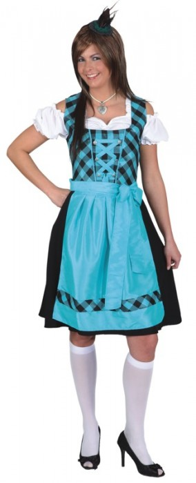 dirndl josi kleid mit sch rze oktoberfest wiesn trachtenkost m b dirndls24 trachten. Black Bedroom Furniture Sets. Home Design Ideas